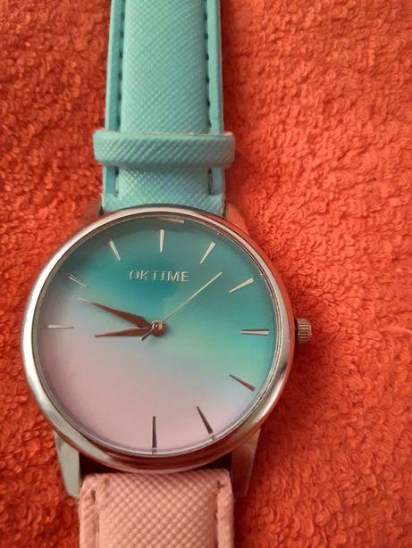 Oktime zegarek damski ombre różowy niebieski Warszawa - image 2