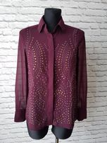 Burgundowa koszula Amisu XS