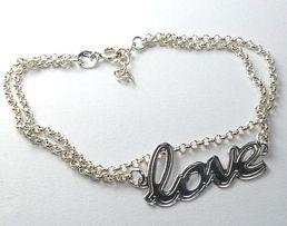 bransoletka LOVE srebro pr. 925 NA PREZENT s333