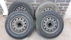 13' Rimms with Tyres