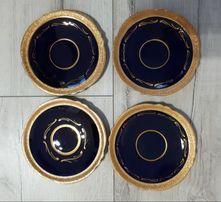 Porcelanowe talerzyki 4 szt. Passell