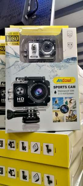 Camera-water proof sports camera