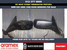 Bmw E46 330d used door mirrors for sale