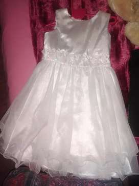 Pearl White Christianing Dress