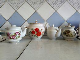 Фарфорові чайники СССР