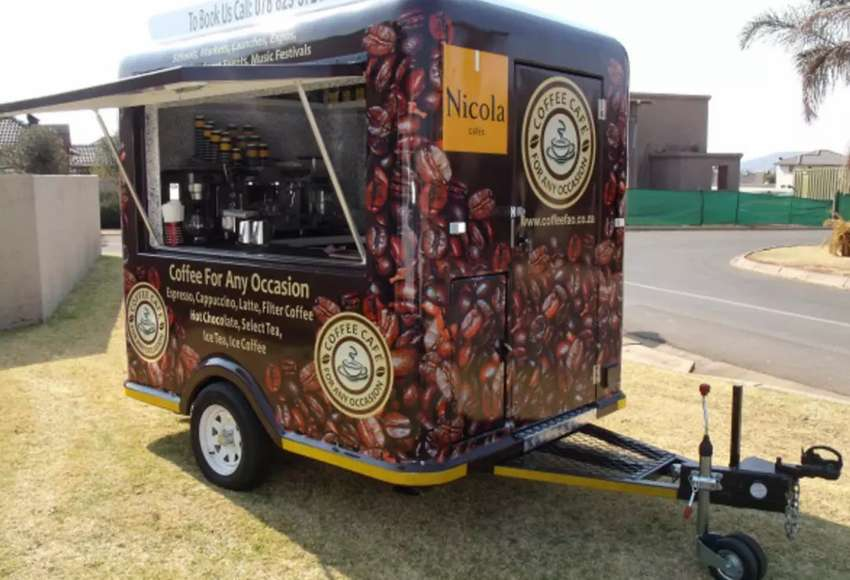 MOBILE COFFEE TRAILER FOR SALE 0