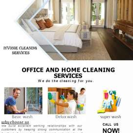 We do house and office cleaning,Babby sitting and laundries