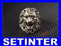 Лев - перстень, серебро, 925, Leo - silver ring