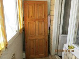 Дверное полотно натур. сосна ц. 1000 грн.