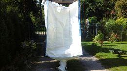Worek big bag, big bagi,big begi, czysty, mocny, na miejscu w Lublinie