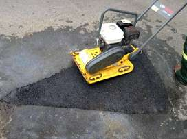Tar surfacing and potholes repair