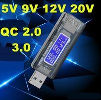 USB вольтметр амперметр