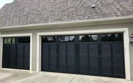 Garage door .shuuers