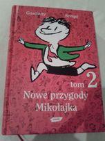 """Nowe przygody Mikołajka"""" i """"Nowe przygody Mikołajka: Tom 2"""" Rene Gosci"""