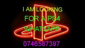 i am looking for a ps4 console