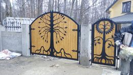 Ворота ковані