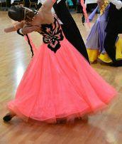 Платье для бальных танцев европейская программа (стандарт)