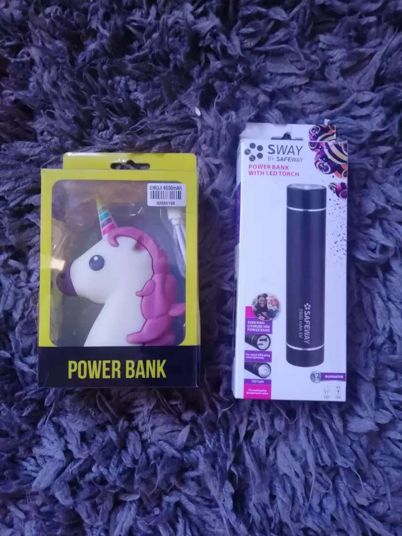 USB MOBILE POWER BANK & POWER BANK WITH LED TORCH 0