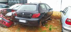 Peugeot 307 2.0l 16v stripping for parts