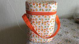 детская термо сумка контейнер на 2 бут