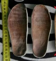 Шкіряні устілки 15,3 см. Вістівки. Стельки.