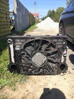 Продам касета радиаторов кулер вентилятор bmw f10 2.0d n47