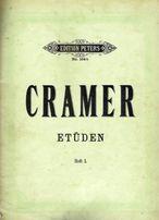 Nuty na fortepian - Cramer - Etiudy. Zeszyt I