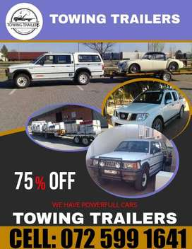 Trailer Towing. Horse Towing. To Anywhere..