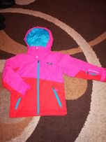 Kurtka narciarska dziewczęca 125-132 cm