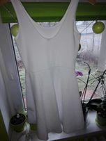 Sukienka biała S nowa