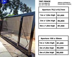 clear view driveway gates prices