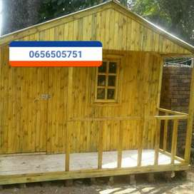 Log homes and wendy houses on special today call/whatsapp