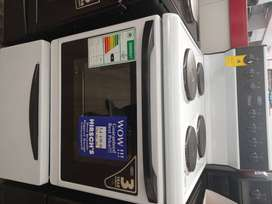 DSS493 DEFY 621 WHITE ELECTRIC STOVE