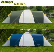 Палатка туристическая Acamper Nadir 6 новая двухкомнатная