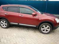 Red Nissan dualis New number 0