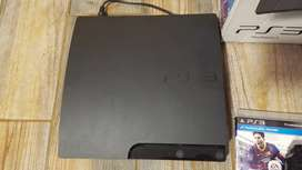 Ps3 with two controller and one game