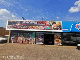 Fast food and entertainment business for sale