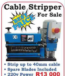 Cable stripper for R13000