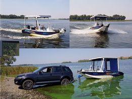 Катер - лодка UMS Boat 500 с MERCURI 115л.с.