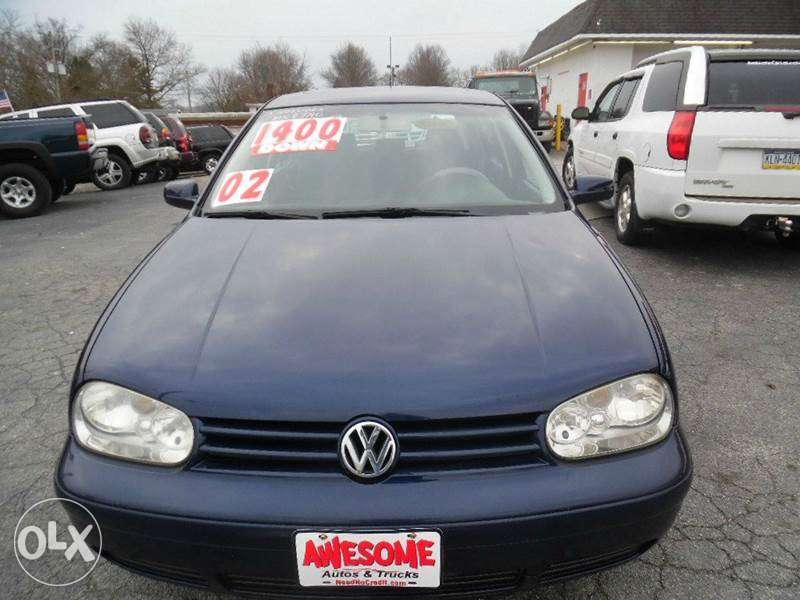 Clean Volkswagen golf4 2003 0