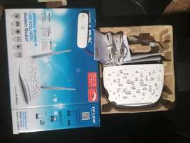 TP LINK TD W9970 ROUTER and Vodafone modem