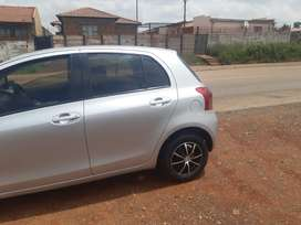 Toyota Yaris,2010,Hashbag, used and the price is negotiable