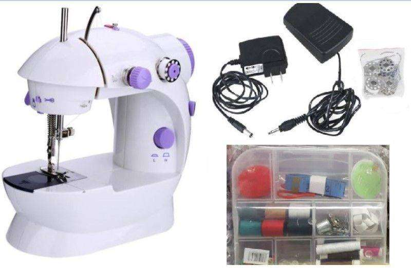 Brand New Mini Sewing Machine +Adapter (Sewing Kit Optional) 0