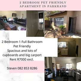 Beautiful flat in Park Rand _own  entrance