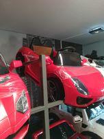 Najnowszy samochód Sportowy aLa Porsche na akumulator Skóra Koła Eva