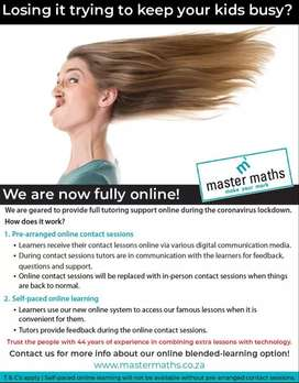 Master Maths and Science Online Tuition