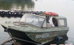 Лодка-катер тримаран Сарепта