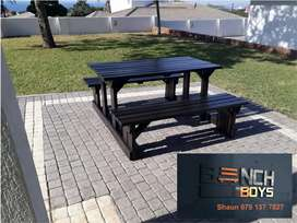 Braai and restaurant benches