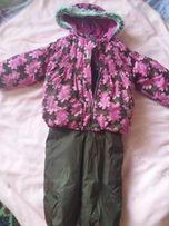 Летняя цена на зимний комплект, костюм Lenne 92+6 в хорошем состоянии
