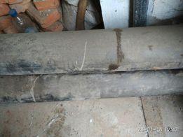 Трубы пластиковые водопроводные старого образца